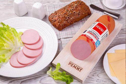 Колбаса вареная Докторская ГОСТ в белковой оболочке Ремит