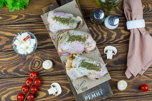 Рулет куриный с сыром Фетакса и грибами (лоток) Ремит