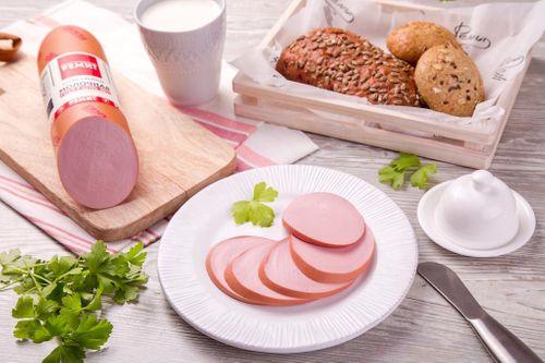Колбаса вареная Молочная ГОСТ в белковой оболочке Ремит