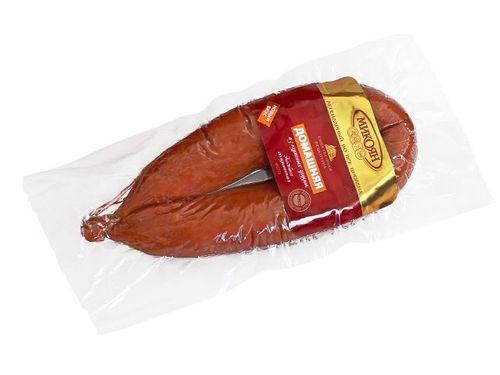Колбаса полукопченая Домашняя из куриных грудок Микоян