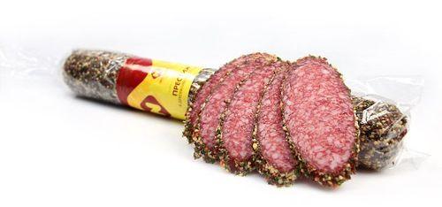 Колбаса сырокопченая Пресижн в декоративных специях Останкино