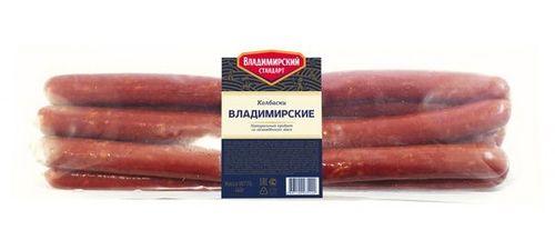 Колбаски варено-копченые Владимирские