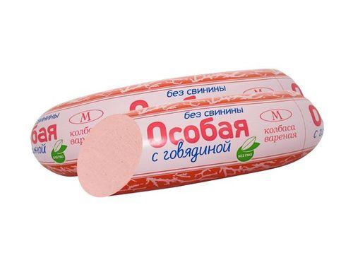 Колбаса вареная Особая с говядиной