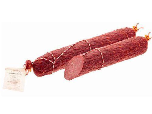 Колбаса варено-копченая Светская вяленая Микоян