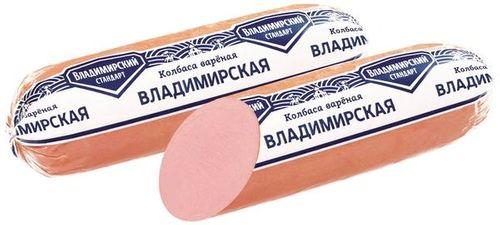 Колбаса вареная Владимирская