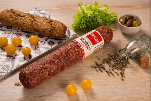 Колбаса сырокопченая Испанская Мраморная Ремит