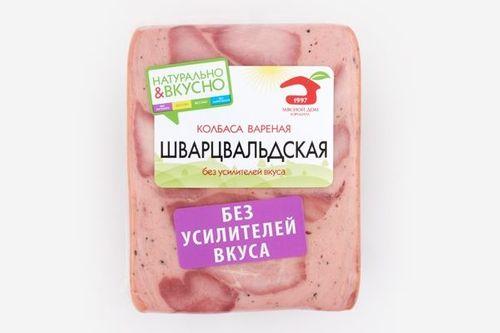 Колбаса вареная Шварцвальдская в/у порц. нарезка МДБ