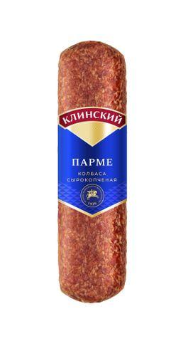 Колбаса сырокопченая Парме Клинский