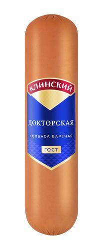 Колбаса вареная Докторская ГОСТ н/о в/у Клинский