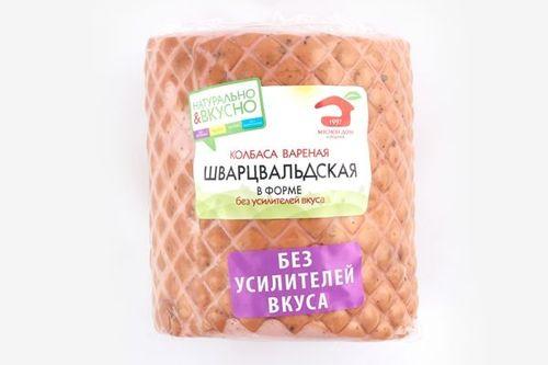 Колбаса вареная Шварцвальдская в форме в/у Б.кусок МДБ