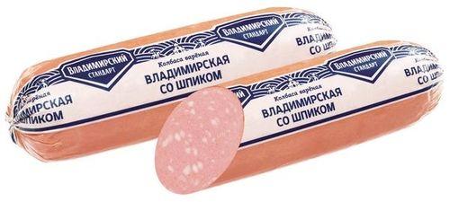 Колбаса вареная Владимирская со шпиком