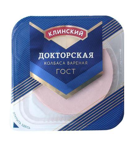 Колбаса вареная Докторская ГОСТ в/у Клинский