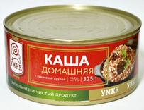 Каша с мясом домашняя с гречневой крупой