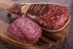 Колбаса сырокопченая Пера Лионская свиная Рублевский